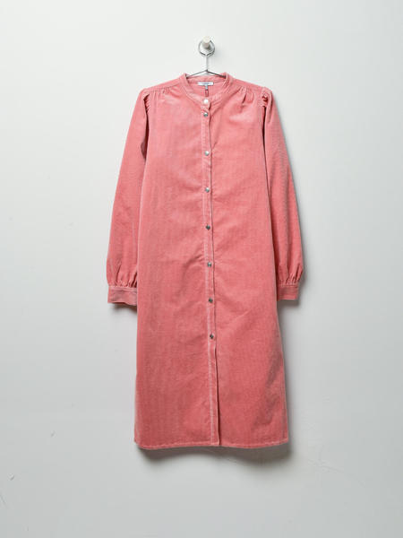 Ganni Ridgewood Dress - Silver Pink