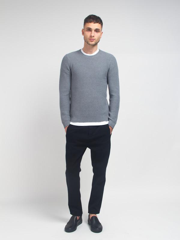 Men's Folk Honeycomb Knit Sweater