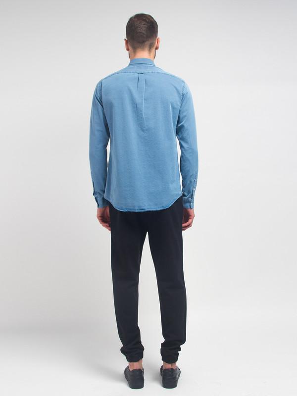 Men's Schnayderman Leisure Denim Shirt