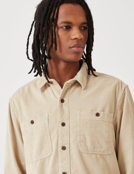 Dickies Bayville Cord Shirt - Oyster Grey