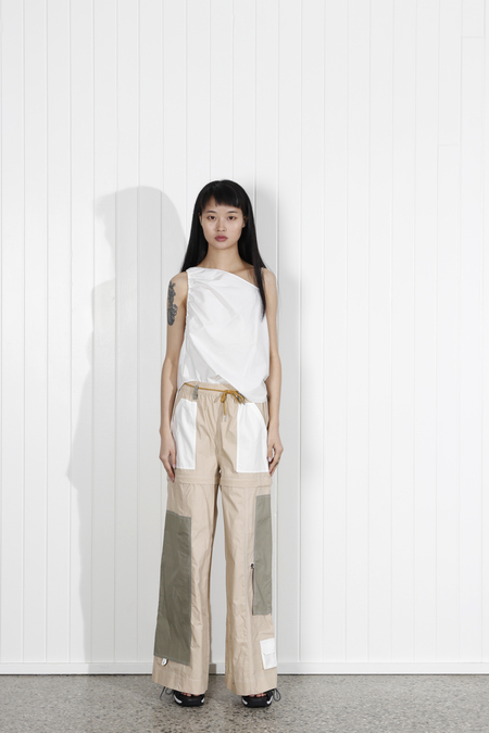 Ganni Hazel Pant - Irish Cream