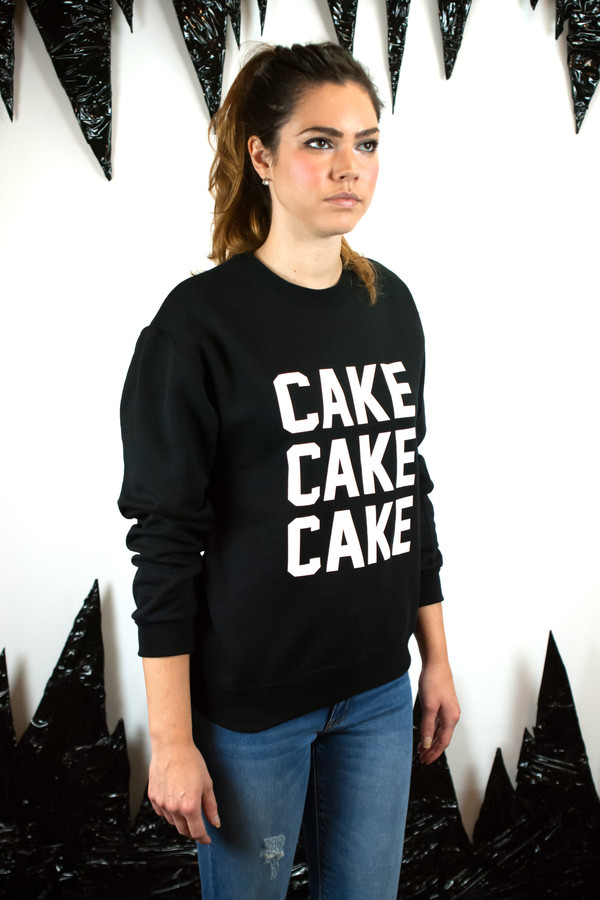 Private Party Cake Cake Cake Sweatshirt