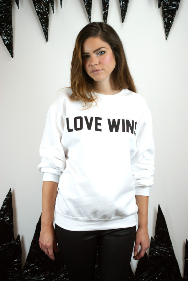 Private Party Love Wins Sweatshirt