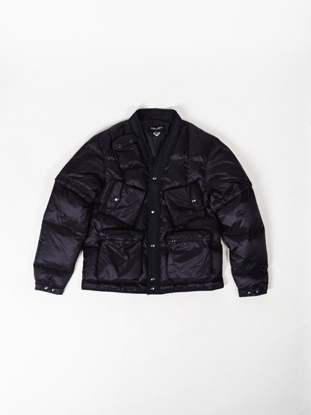 EASTLOGUE C-1 DOWN JACKET - BLACK