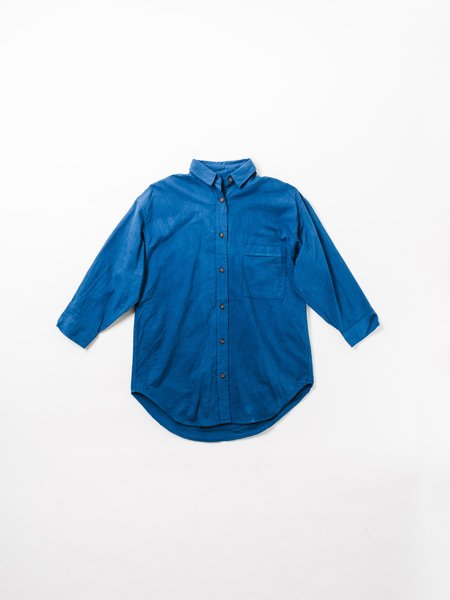 MOLLUSK MAGGIE SHIRT - NIPPON BLUE