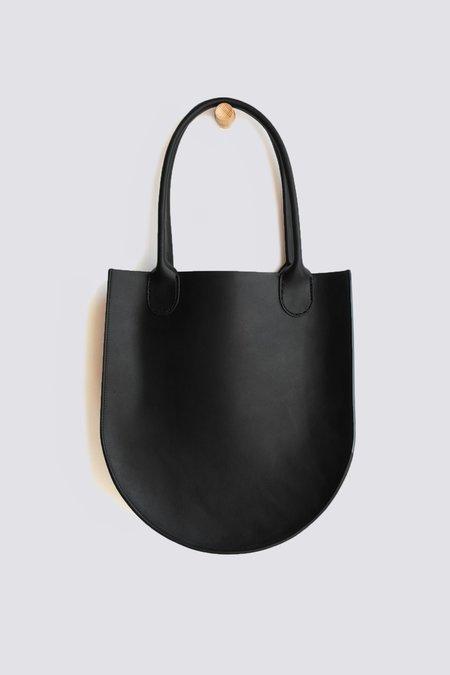 Sara Barner Leather Russell Tote - Black