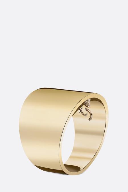 Gabriela Artigas 14K Cigar Band Ring - Gold