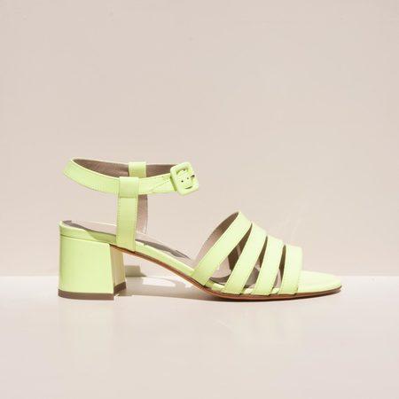 Maryam Nassir Zadeh Palma Low Sandal - Sun Fluorescent