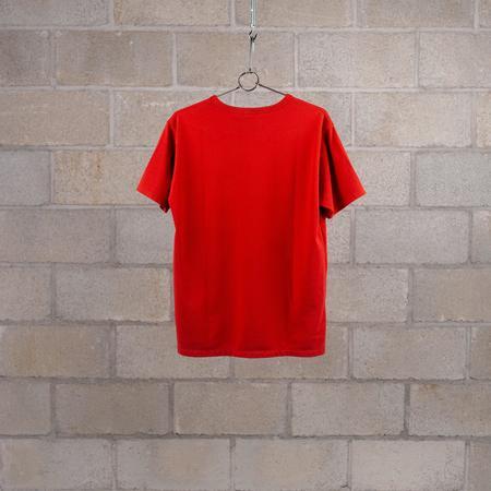 Nanamica COOLMAX Jersey T-Shirt - sunshine red