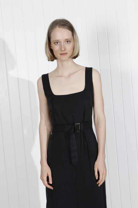 Shaina Mote Kado Dress - Onyx