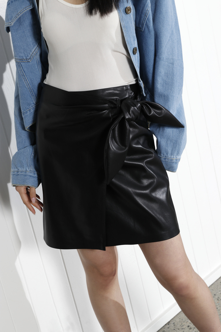 Nanushka Iowa Skirt - Black