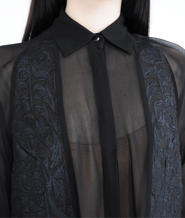 Shakuhachi Embroidered Blouse
