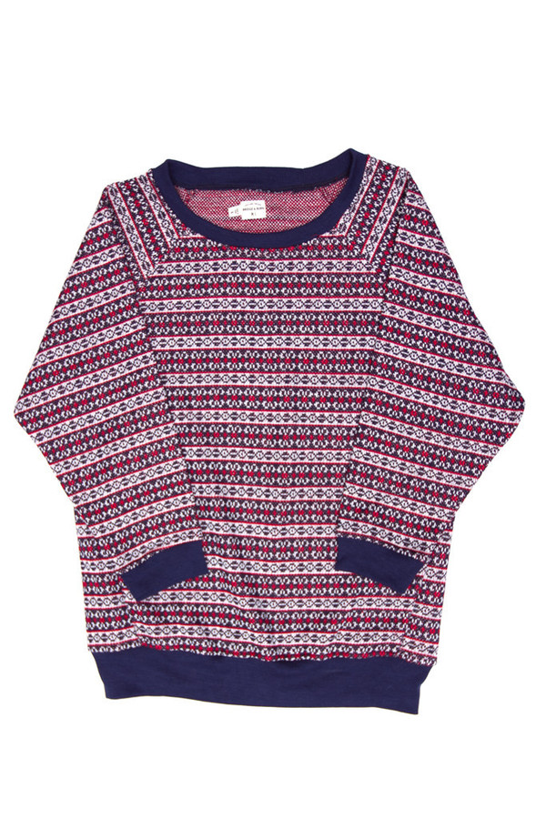 Bridge & Burn Juneau Stripe Sweater