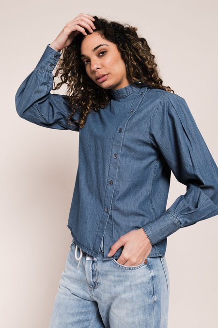 CLOSED Denim Blouse - Mid Blue