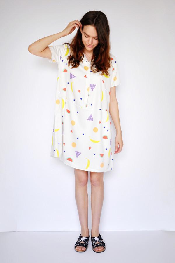 Fruit Oversize Tee Dress
