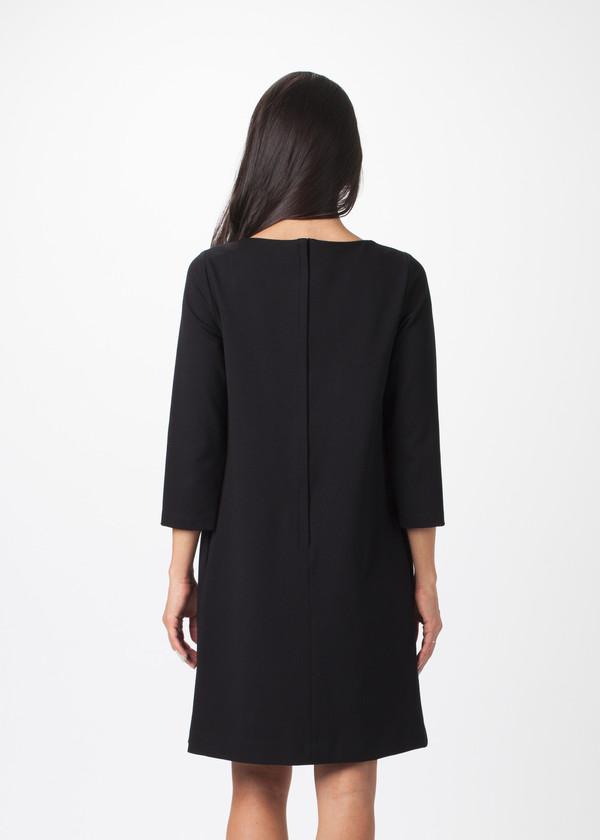 Hache 3/4 Sleeve Dress