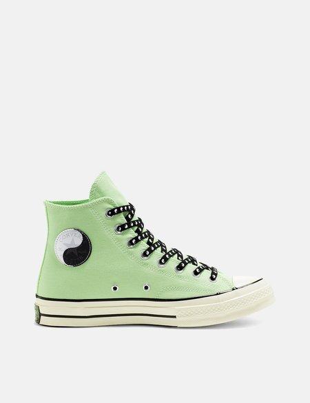 7ef6c8f5dbd5 ... Converse 70 s Chuck Taylor Hi (164210C) - Aphid Green Black Egret