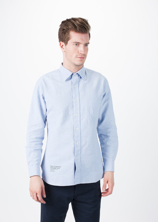 Men's Nigel Cabourn Basic Oxford Shirt