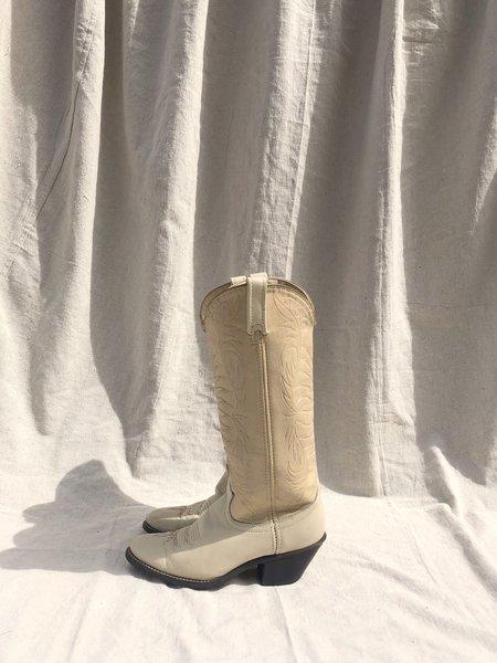 Vintage Acme Cowboy Boots - Bone
