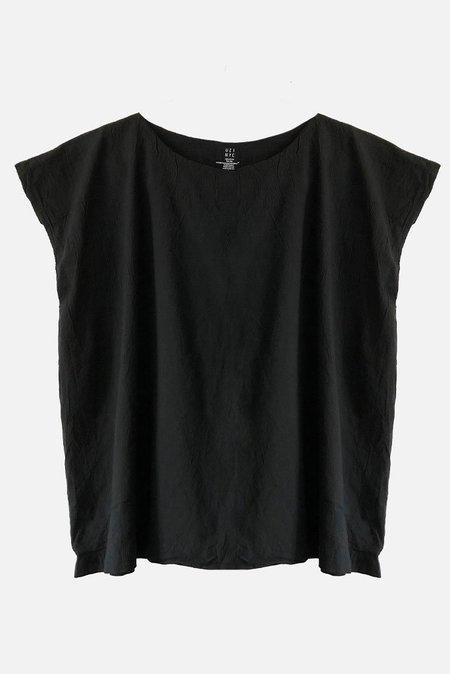 Uzi NYC Tunic Top - Black