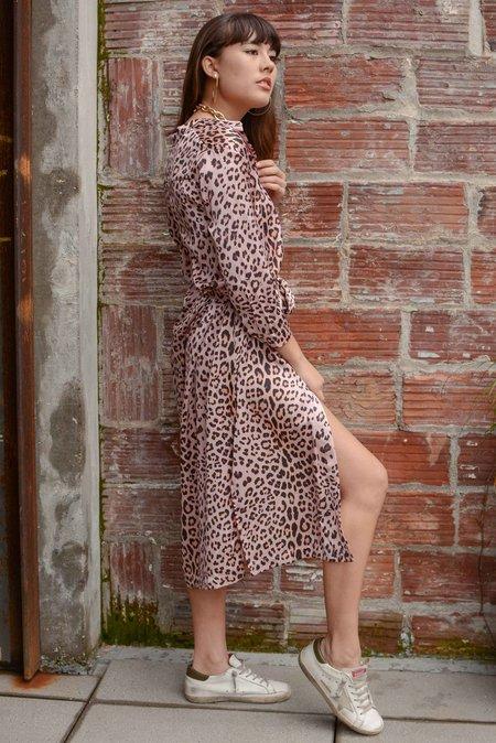 Sway and Cake Lorna Dress - Blush Leopard