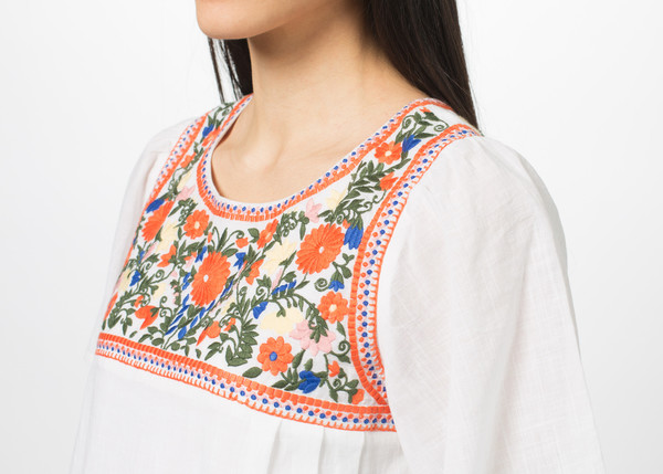 You Must Create Floral Embroidery Dress