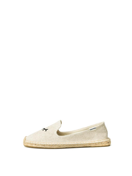 Soludos WINK EMBROIDERY SM SLIPPER - SAND