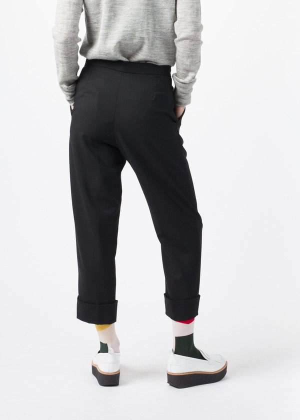 Amelia Toro Pleated Cuff Trouser