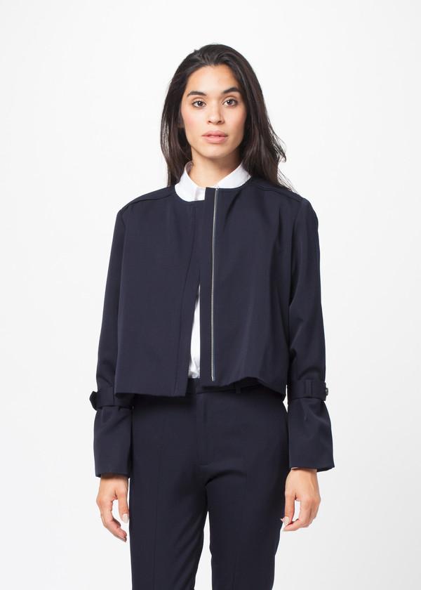 Sayaka Davis Short Trench Jacket