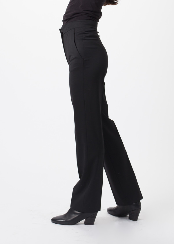 Ter et Bantine Straight Leg Wool Pants
