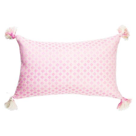 Archive New York Comalapa Rectangle Pillow - Light Pink