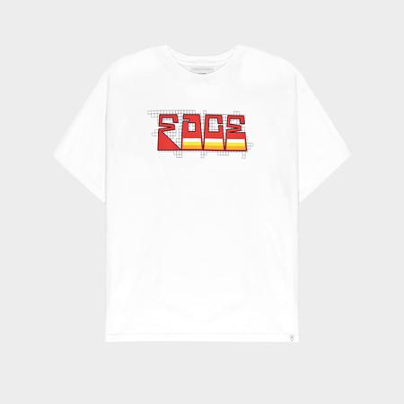 Facetasm Face Graphic T-Shirt - White