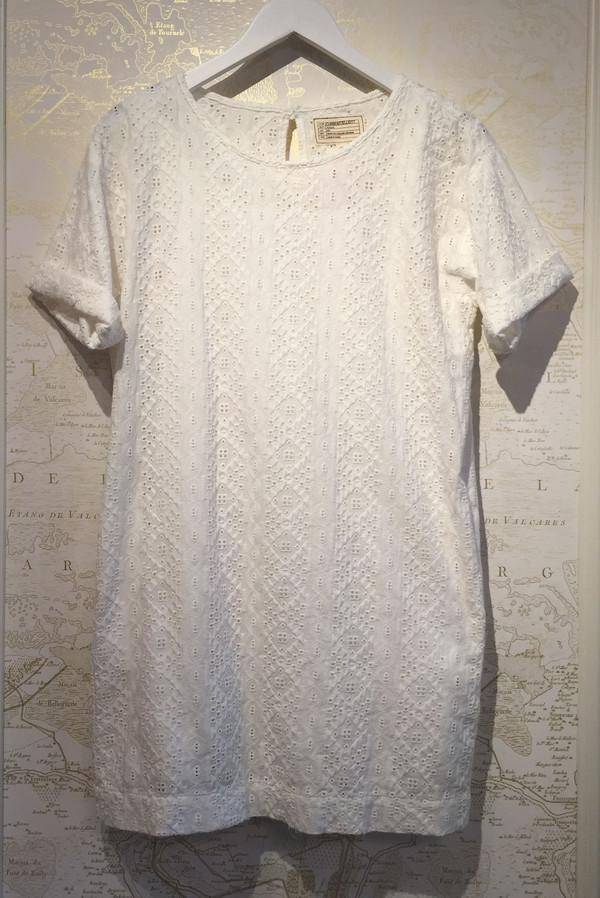 Current Elliott Eyelet Tshirt Dress