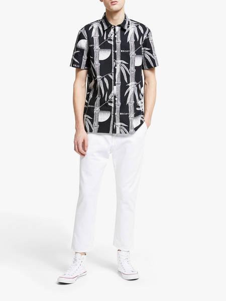 Edwin Universe Cropped Pant - White