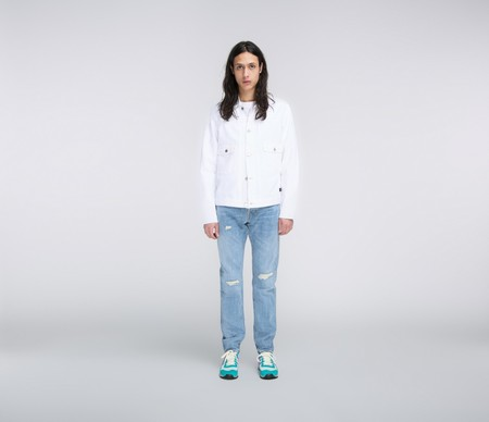 Edwin E-Classic Jacket - White
