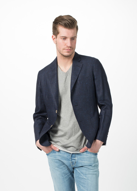 Men's Shockoe Rough Silk Blazer