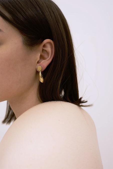 Anne Thomas Méditerranée Earrings - 18k Gold