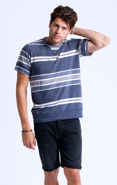 Men's Turkish Stripe Terry-Knit Tee