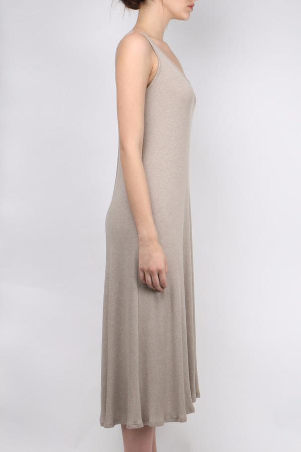 Atea Oceanie Rib Tank Dress