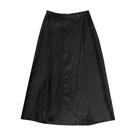 Ali Golden WRAP SKIRT - BLACK