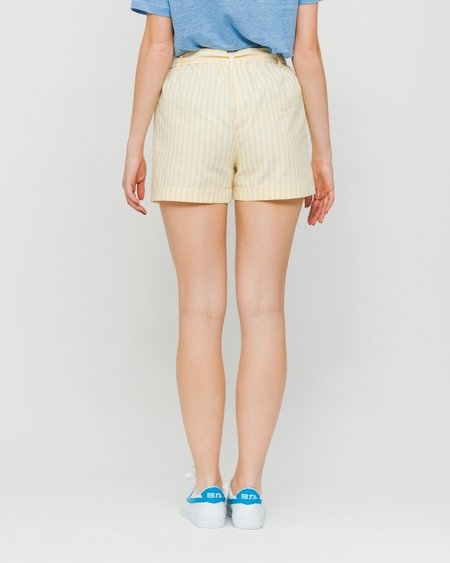 Minimum 4061 Shorts - Lemon Drop