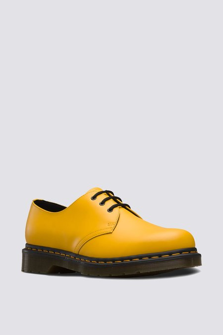 unisex Dr. Martens Leather 1461 Lace-up Oxford - Yellow