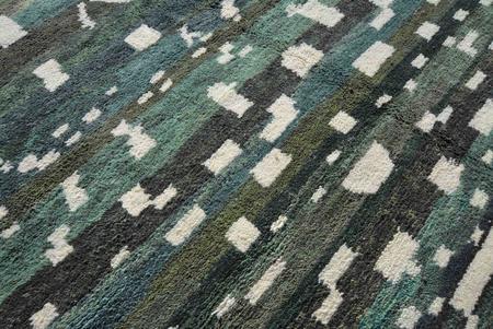 San Junipero Textile Studio Mescal Rug - Green
