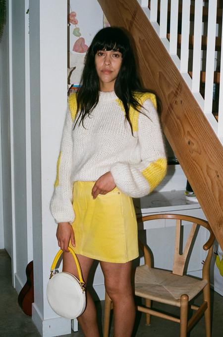 Ganni Julliard Mohair Sweater - Vanilla