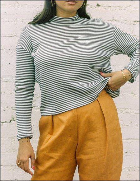 FME Apparel Cotton Skivvy - Mushroom Stripe