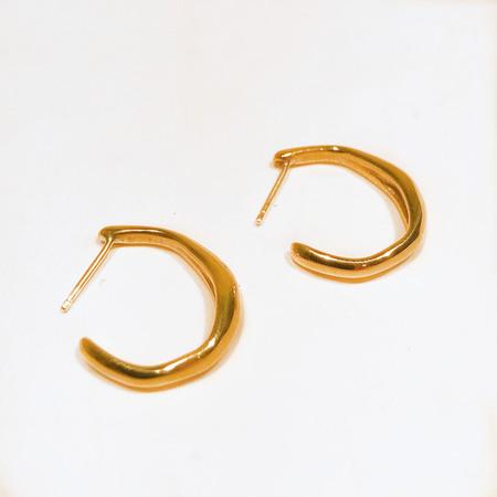 FARIS JEWELRY Small Vero Hoops - Bronze