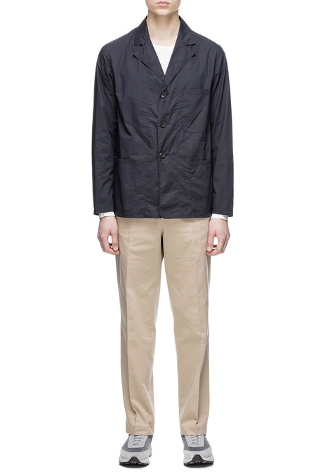 Men's Our Legacy Lab Blazer - Navy Cotton
