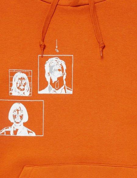 df5f8aa8d270 SCRT Leon Hooded Sweatshirt - Orange ...