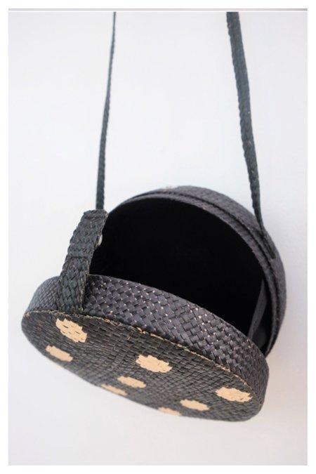 Banago Olga Sling Bag - Polka dot black