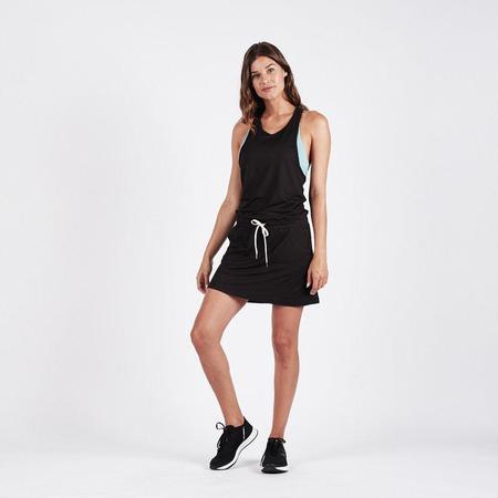 Vuori Sol Tank Dress - Black